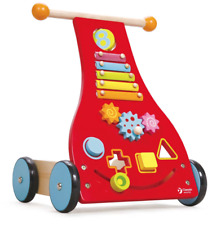 Classic World - Wooden Baby Walker - Interactive