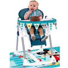 MICKEY MOUSE Fun to Be One HIGH CHAIR DECORATING KIT ~ Birthday Party Supplies