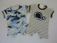 NEXT Set of 2 Romper Suits First Size  NWT