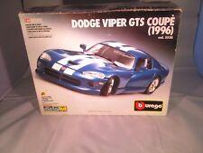 Burago Dodge Viper GTS Coupe (1996) 1:24 Metal Body Kit 5530 Complete