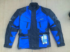 "RK SPORTS Mens Textile Motorbike / Motorcycle Jacket Size UK 38"" Chest (h67)"
