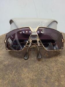 CAZAL MOD 951 Gold Brown Vintage Eyeglasses Sunglasses