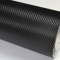 Auto SUV Carbon Fiber Vinyl Wrap Roll Film Black Sheet DIY Car-Styling Car Decal