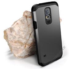 Galaxy S5 Protective [Armor] Dual Layer Protective Case Armor-Gunmetal