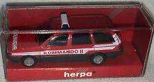 "Herpa Sondermodell - VW Passat Var. ""BFW Salzburg KOMMANDO II"", H0 1:87, neu+OVP"