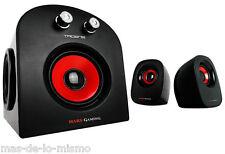 Altavoces Estereo Tacens Mars Gaming Speaker MS2 2.1 20w 2 Satelites + Subwoofer