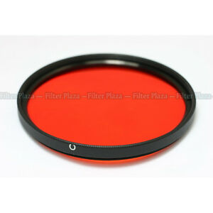 77mm Orange Color Conversion Sunset Effect filter Lens For Canon Nikon Sony DSLR