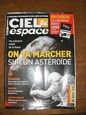 Ciel et espace N°452 Astéroïde Mercure Station spatiale internationale