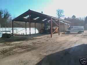 farm building steel portal stucture agricultural spec