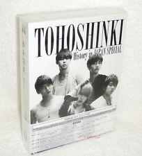 TOHOSHINKI TVXQ History in Japan Special Japanese 4-DVD BOX (Dong Bang Shin Ki)