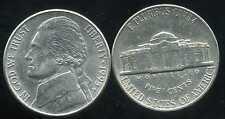 USA 5 cents  jefferson  1995 P