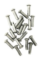 Spur Rowel Pins Replacement Stainless Steel 10 Pairs Pack 5/8 Inch Length