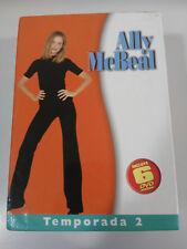 ALLY McBEAL SEASON SEASON 1 COMPLETE - 6 x DVD SPANISH ENGLISH DEUTSCH