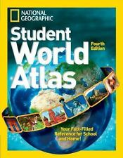 National Geographic Student World Atlas c2014 NEW Paperback
