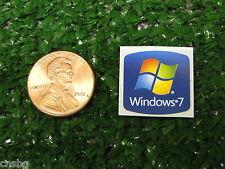 NEW! Windows 7 Sticker 18mm x 18mm Label Case Badge Logo. USA Seller!