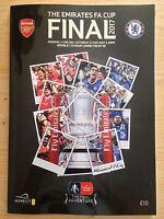 2017 FA CUP FINAL PROGRAMME *CHELSEA V ARSENAL* (27/05/2017)