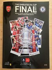 2017 FA CUP FINAL PROGRAMME *CHELSEA V ARSENAL* (27/05/2017)