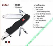 NAVAJA VICTORINOX NOMAD 11 FUNCIONES 083533 0.8353.3