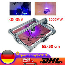 2000MW / 3000MW Laser Graviergerät Graviermaschine 65x50cm Lasergravur DIY