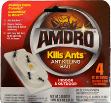 "AMDRO Ant Killing Baits (Indoor/Outdoor) ""Kills Ants"" - 4 Stations"