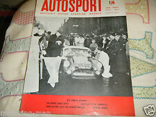 1959 MONTE CARLO RALLY UPDATE BERKELEY JOHN PATTEN GRAHAM HILL AUSTIN SUNBEAM