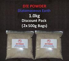 D! E Poudre Terre de Diatomées 1.0 Kg disque. Pack De Volaille vers/redmite/PUCES/Poux