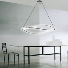 LuMi Lina LED Pendelleuchte Höhenverstellbar Deckenleuchte Hängelampe Lampe 48W