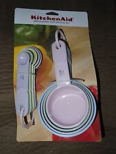KitchenAid Pastel Measuring Cup/Spoon Set of 5 Spoons & 4 Cups-Free Shipping