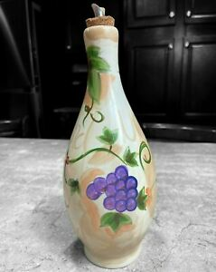 Barcelona Grape Hand Painted Collection Oil Bottle