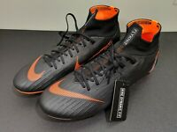 NIKE Mercurial Superfly 6 PRO FG Soccer Cleats Mens Black Size 12.5 AH7368-081