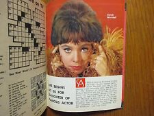 Feb-1964 NY Journal American TV Mag(SARAH  MARSHALL/WILD  KINGDOM/JAYNE MEADOWS)