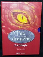 L'île aux dragons, Intégrale Coffret en 3 volumes Dragon Island Trilogy IMPORT