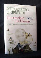 Odifreddi - In principio era Darwin - Longanesi 2009 - 9788830426832