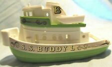 Vintage S.S.Buddy L Corp. Metal & Plastic Tug Boat/Ship-Made In Japan