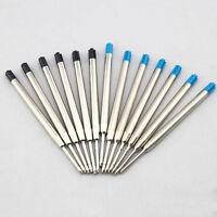1Pcs Kugelschreiberminen -Großraumminen - Metall blau/schwarz--System K9O9