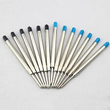 Ballpoint pen refills -Large space refills - Metal blue / black -Parker system 4