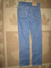 Rare Vintage Levi's 508 Blue Jeans White Tab 30 X 34 Reg. Tapered Leg ~ USA Made
