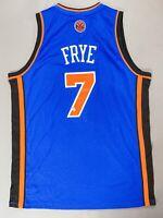 Channing Frye Signed Autographed Basketball Jersey New York Knicks BAS COA