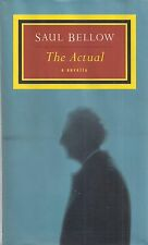 """SAUL BELLOW """"The Actual"""" (1997) SIGNED First Printing FINE Condition Hardcover"""