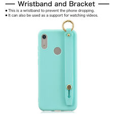 Wristband Support Soft Silicone Case Cover For Xiaomi Redmi S2 Go 4X 5A 6A 7