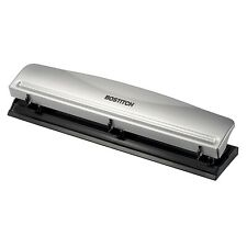 3 Hole Punch Heavy Duty 12 Sheet Capacity Office Supplies Easy-Clean Chip Tray