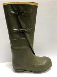LaCrosse Men's Insulated 2-Buckle, Waterproof Hunting Boots-Green, Size 9M.