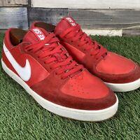 UK8 Nike SB Mavrk 3 Red Skateboard Style Trainers - 525114-611 - EU42.5