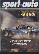 (152) SPORT AUTO N°214 Alfetta Turbodelta Baja San Remo Tour de France...