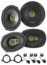 Kicker 46CSC Front + Rear Speaker Replacement Kit For 1998-04 Dodge Intrepid