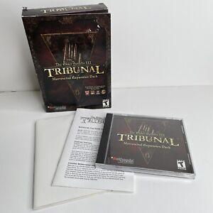 The Elder Scrolls III Tribunal Morrowind Expansion Pack Used PC Game in Box CIB