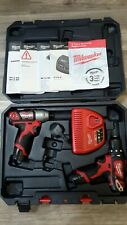 Milwaukee m12 Impact Driver And Drill 3yr warranty.