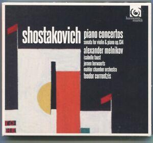 CD Alexander Melnikov: Schostakovich Piano Concertos (Harmonia Mundi) 2011