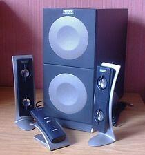 ENCEINTES ALTEC LANSING 2100 - 50 WATT POUR PC FIXE, PORTABLE OU STATION MP3