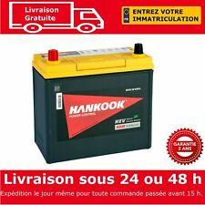 Hankook 45Ah AGM Start Stop Batterie de Voiture - 2 Ans de Garantie Toyota Prius